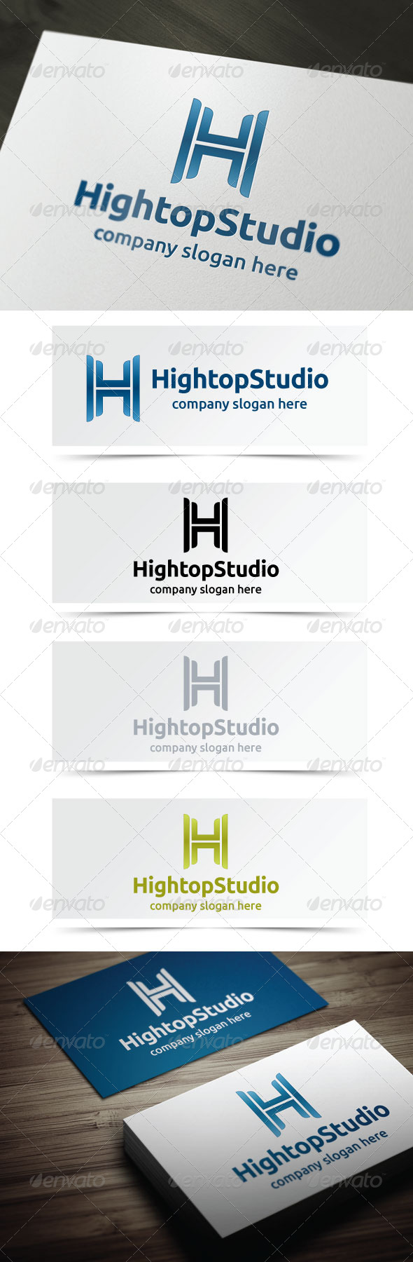 Hightop Studio - Letters Logo Templates