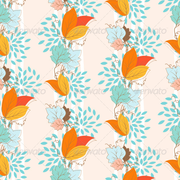 Ivy Seamless Pattern - Patterns Decorative