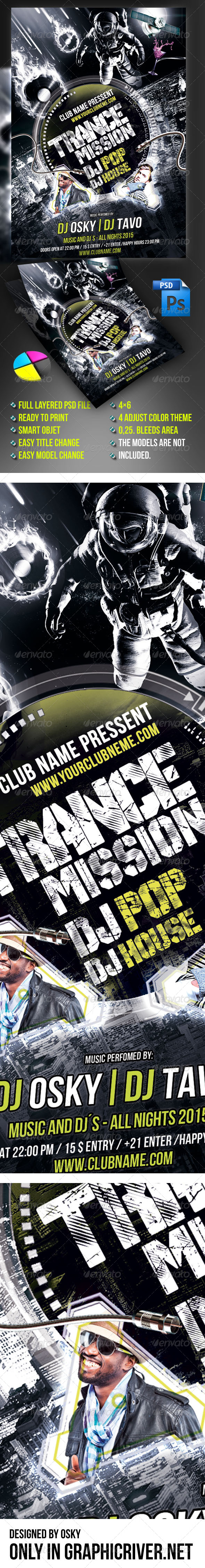 Trance Mission Party - Clubs & Parties Events