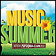 Summer Music Poster/Flyer - GraphicRiver Item for Sale