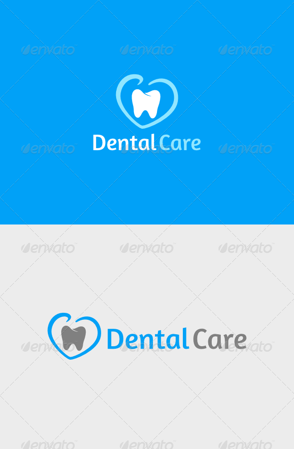 Dental Care Logo - Objects Logo Templates