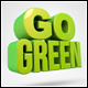 Go Green 3D Renders - GraphicRiver Item for Sale