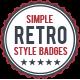 Simple Retro Badges v1 - GraphicRiver Item for Sale