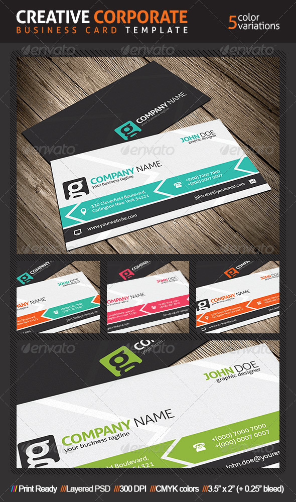 Creative Business Card Template - Creative Business Cards