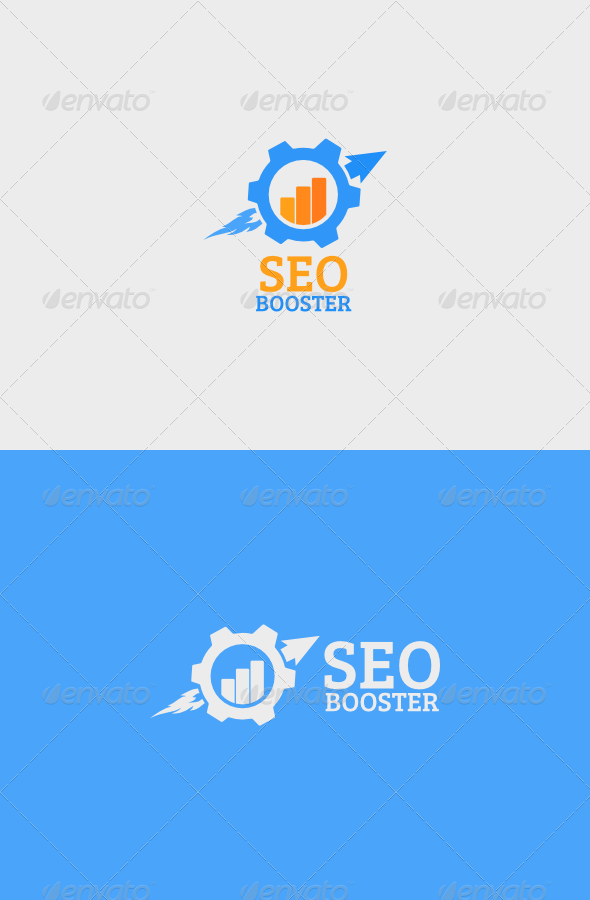 SEO Booster Logo - Objects Logo Templates