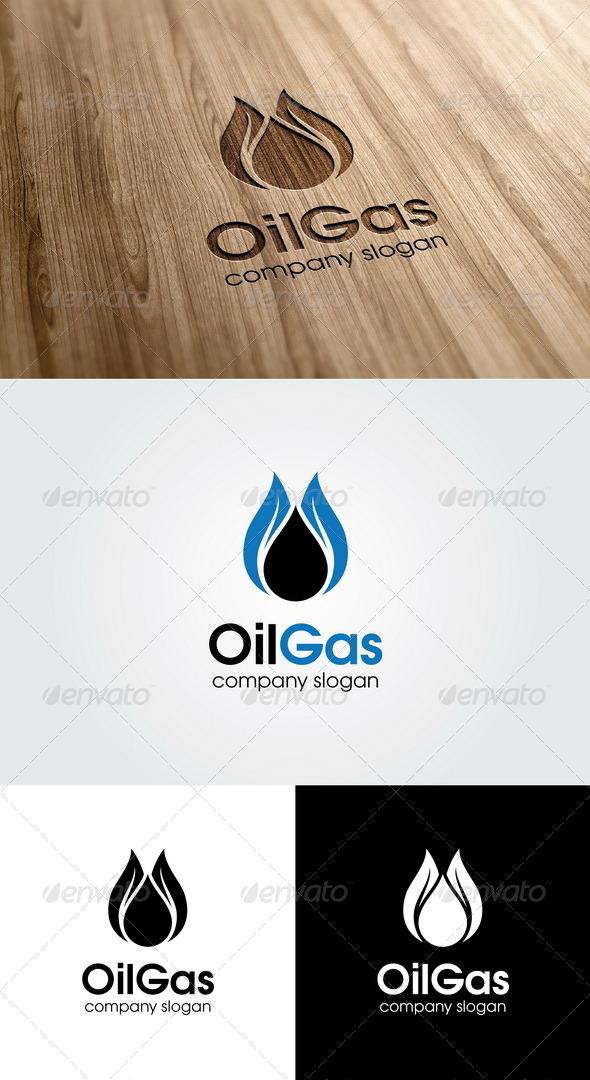Oil Gas Logo - Symbols Logo Templates