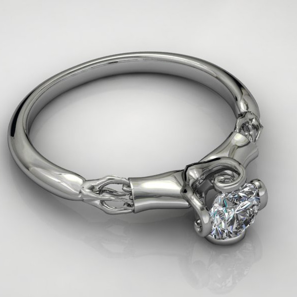 Diamond Ring NRC10 - 3DOcean Item for Sale