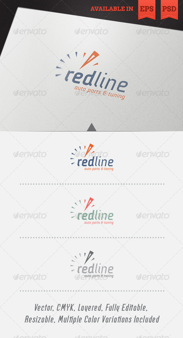 Redline Logo Template - Objects Logo Templates