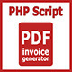 PDF Invoice Generator v 1.0 - CodeCanyon Item for Sale