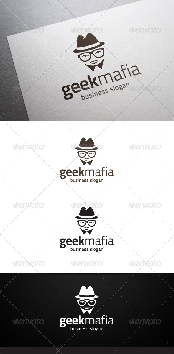 Geek Mafia Logo - Humans Logo Templates