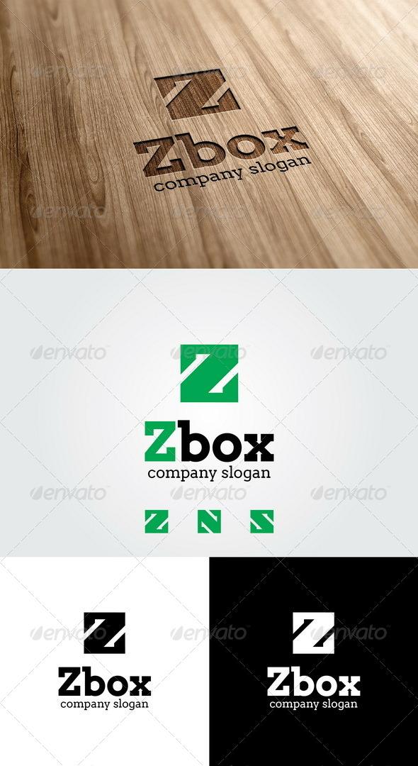 Z Box Logo - Letters Logo Templates