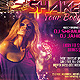 Shake Your Body Party Flyer - GraphicRiver Item for Sale