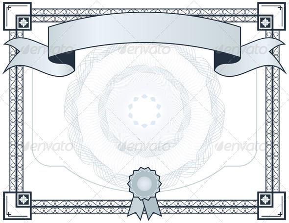 Certificate - Backgrounds Decorative