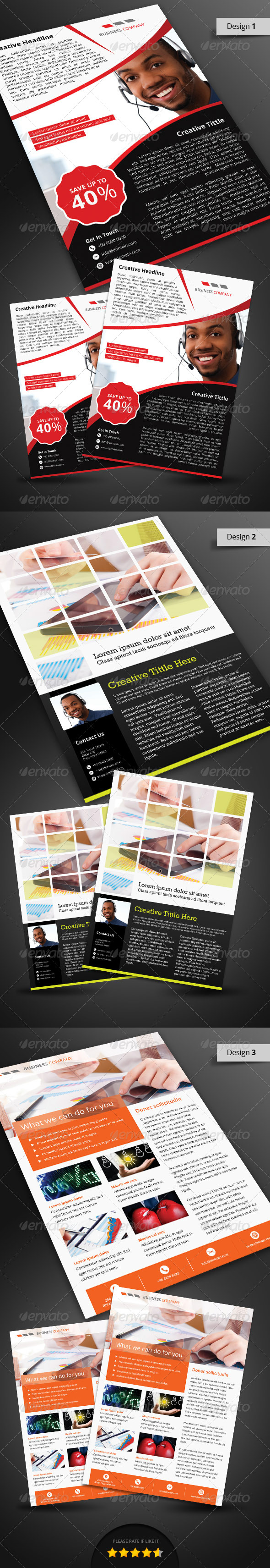 Corporate Flyer Pack - Corporate Flyers