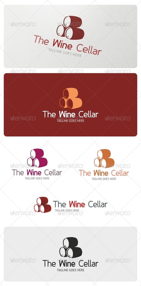 Wine Cellar Logo Template - Objects Logo Templates