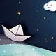 Landscape at night  // for Kids - GraphicRiver Item for Sale