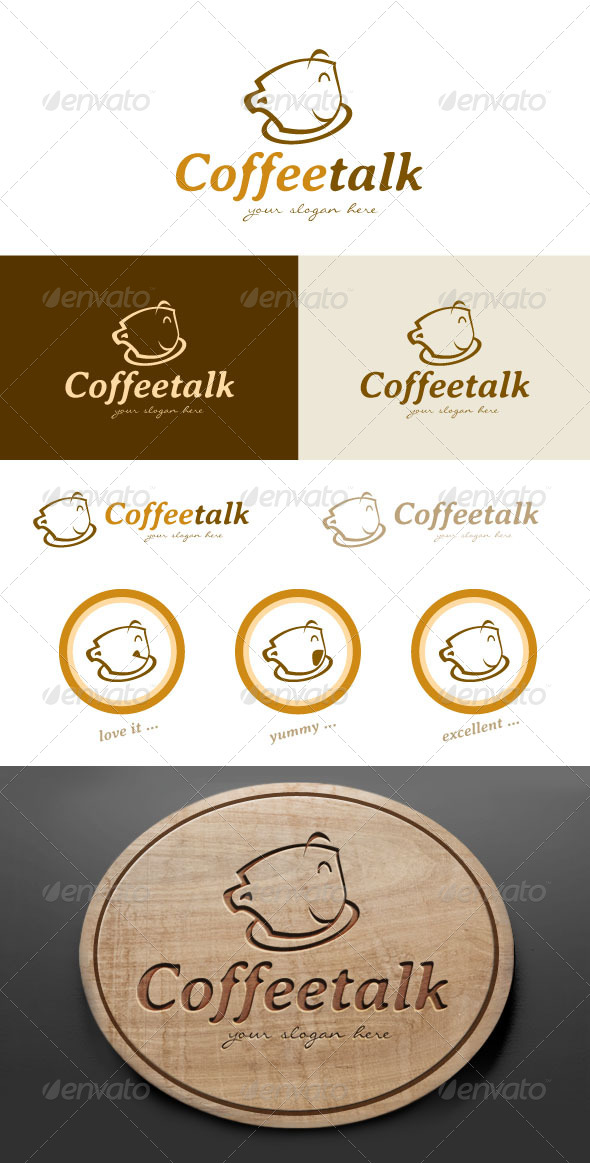 Coffee Cafe Logo Design - Food Logo Templates