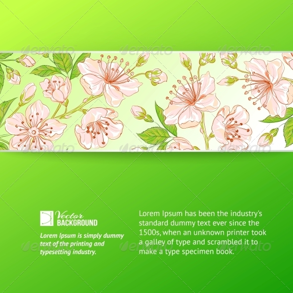 Abstract Flower Label. - Flowers & Plants Nature