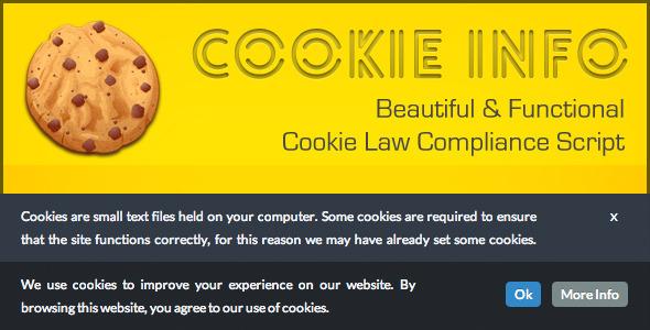 CookieInfo.js - EU Cookie Law Compliance Script - CodeCanyon Item for Sale