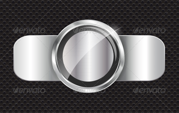 Abstract Metal Background Vector Illustration - Backgrounds Decorative