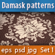 Seamless Damask Patterns Set#1 - GraphicRiver Item for Sale