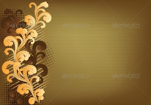 Swirl Texture - Backgrounds Decorative