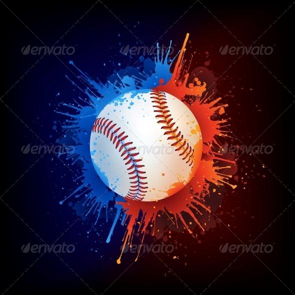 Baseball Ball - Sports/Activity Conceptual