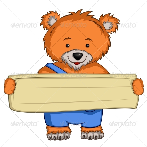 Cartoon Character Bear - Animals Characters