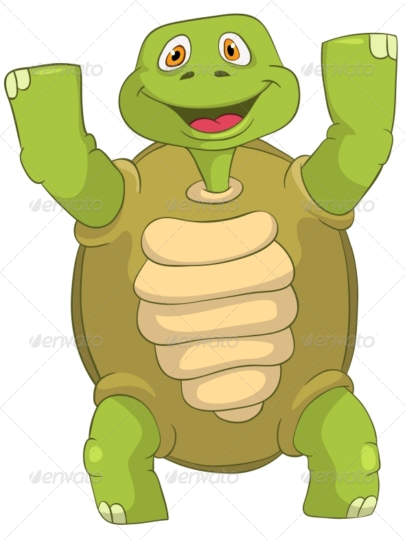 Turtle Winner - Animals Characters
