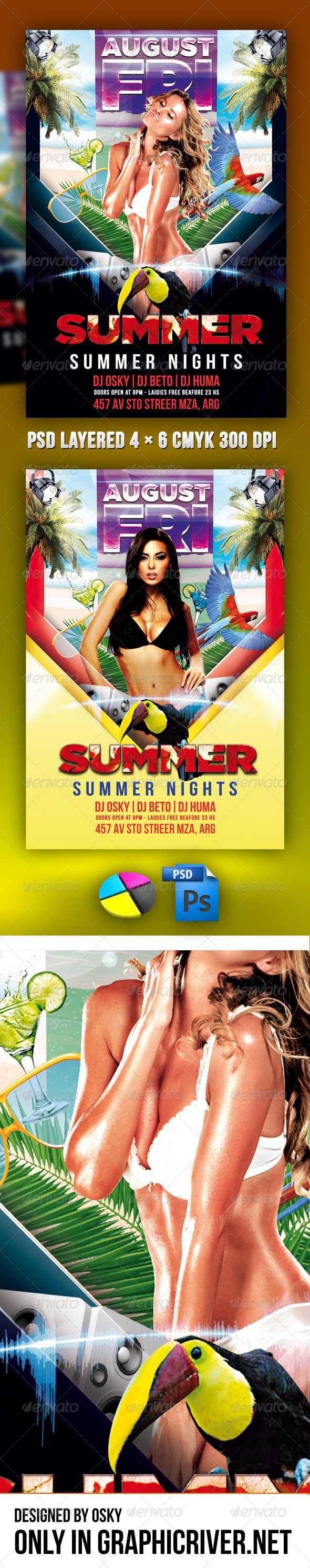 Summer Nights - Clubs & Parties Events