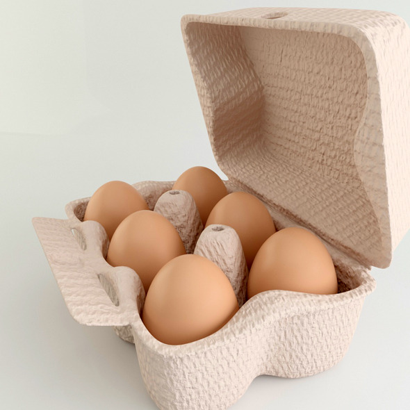 Eggs - 3DOcean Item for Sale