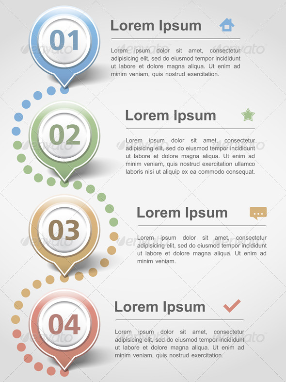 Infographics Design Template - Business Conceptual