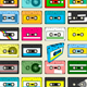 Audio Cassette Tape Wallpaper - GraphicRiver Item for Sale