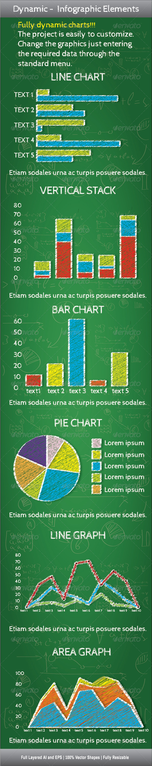Dynamic Infographic Elements - Infographics
