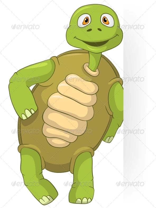 Funny Turtle. - Animals Characters