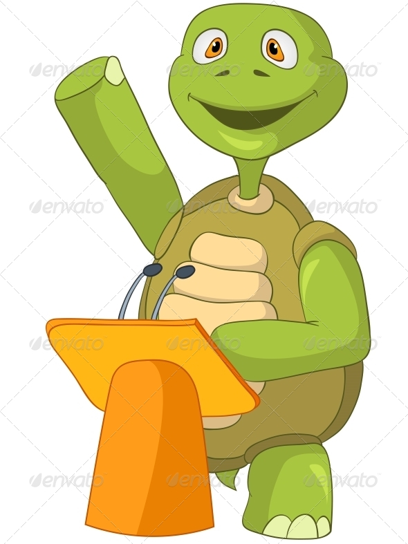 Turtle. Presentation. - Animals Characters