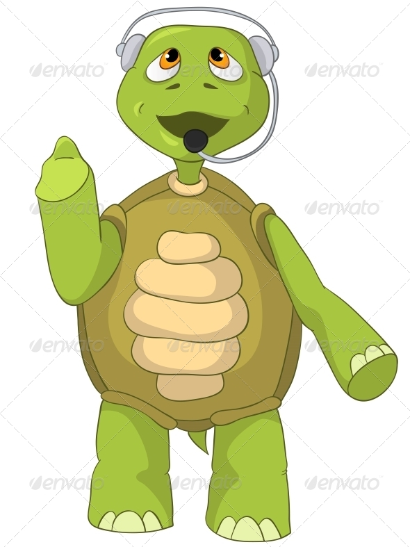 Turtle. Comunication. - Animals Characters