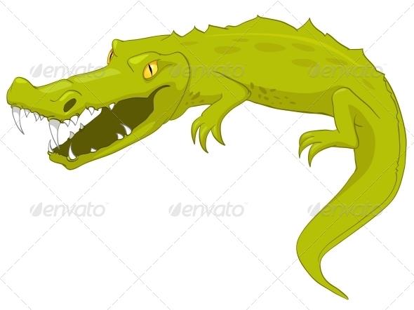 Cartoon Character Crocodile - Animals Characters