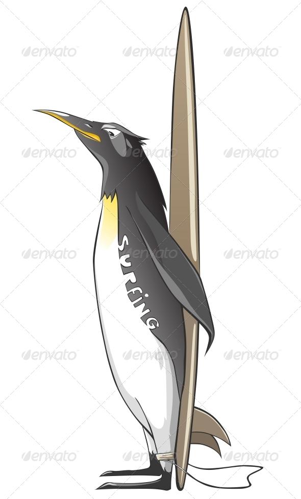 Cartoon Character Penguin - Animals Characters