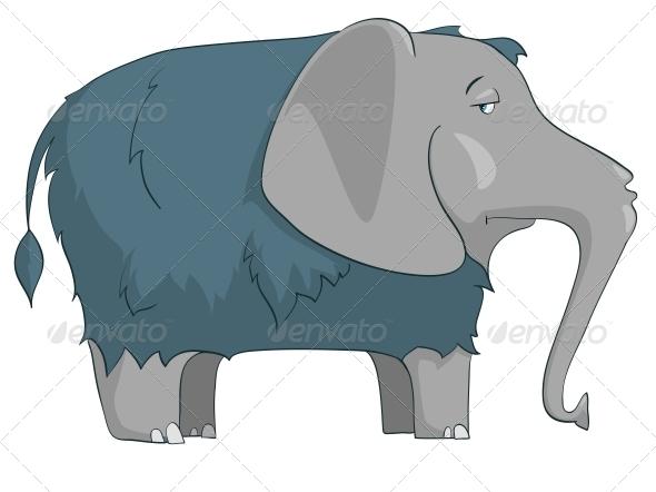 Cartoon Character Elephant - Animals Characters
