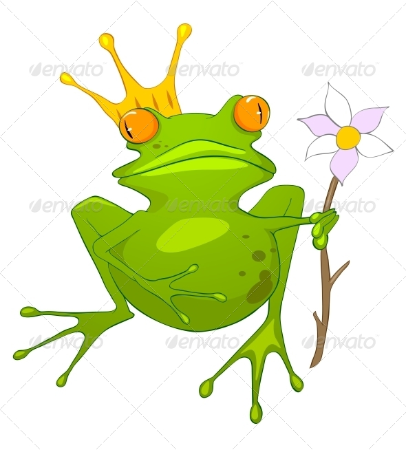 Cartoon Character Princess Frog - Animals Characters