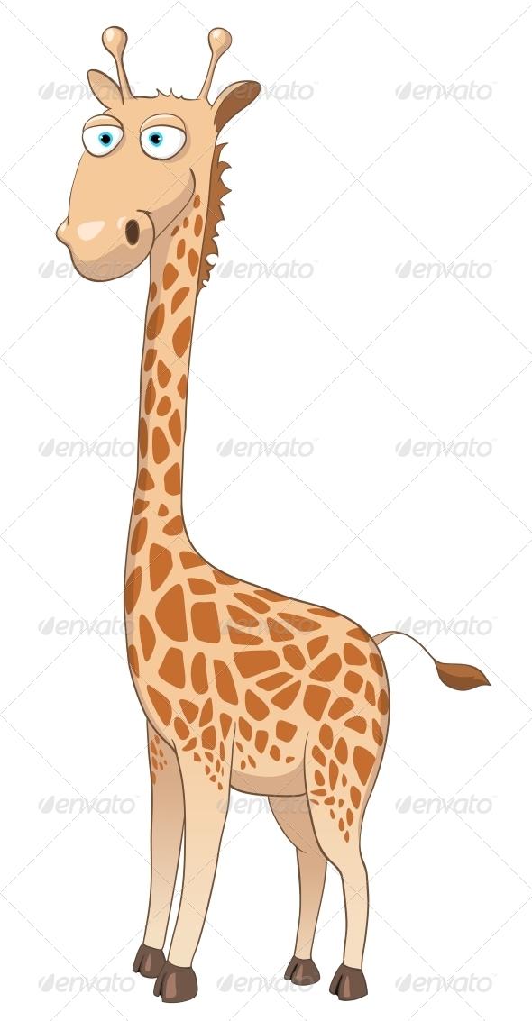 Cartoon Character Giraffe - Animals Characters