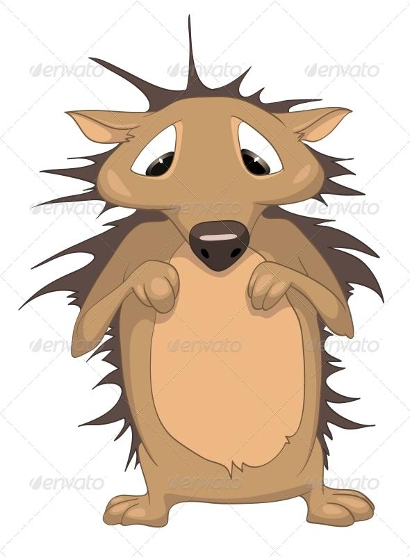 Cartoon Character Hedgehog - Animals Characters