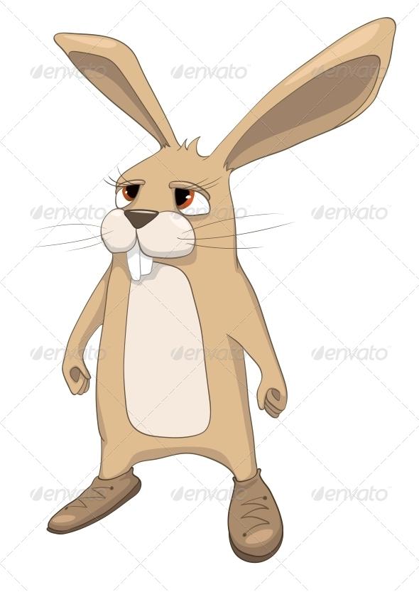 Cartoon Character Rabbit - Animals Characters