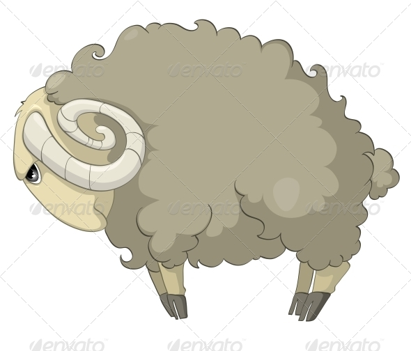 Cartoon Character Sheep - Animals Characters