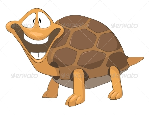 Cartoon Character Turtle - Animals Characters