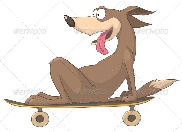 Cartoon Character Dog - Animals Characters