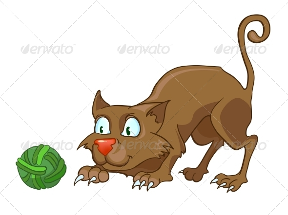 Cartoon Character Cat - Animals Characters