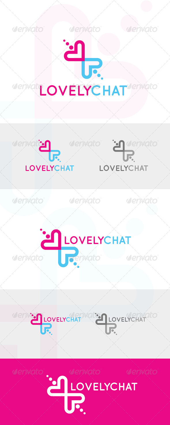 Lovely Chat Logo - Logo Templates