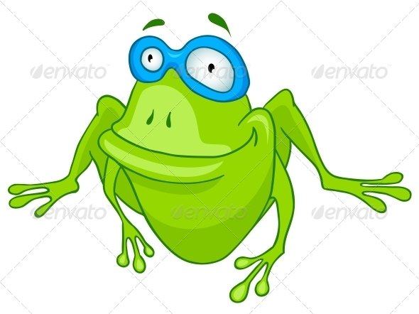 Cartoon Character Frog - Animals Characters
